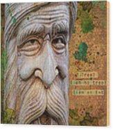 Treebeard Wood Print