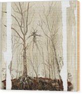 Treeman Wood Print