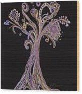 Trees 12 Wood Print