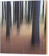 Trees #3 Wood Print