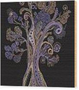 Trees 8 Wood Print