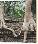 Trees United Wood Print