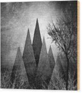 Trees V I I I Wood Print