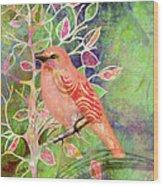 Treetop 1 Wood Print