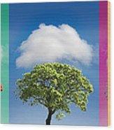 Treetypch Wood Print