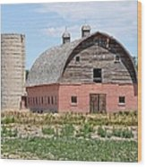 Tremonton Barn Wood Print