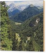 Trentino - Val Duron Wood Print