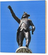 Trenton Battle Monument Wood Print