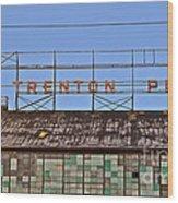 Trenton Plant Wood Print