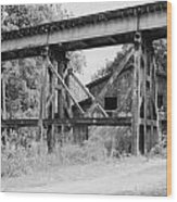 Trestle And Barn Wood Print