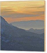 Trevenque Mountain  2079 M Wood Print