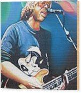 Trey Anastasio And Lights Wood Print