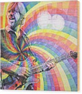 Trey Anastasio Rainbow Wood Print