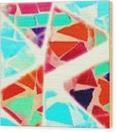 Triangular Wood Print