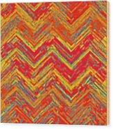 Tribal Pattern 019 Wood Print