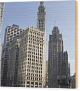 Tribune Tower Chicago Wood Print