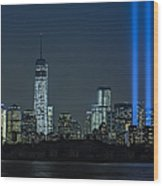 Tribute In Light 2013 Wood Print
