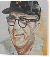 Tribute To Edward Logan My Grandfather  Wood Print