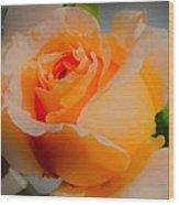 Tricia's Rose 8.6.14  Wood Print