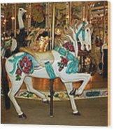 Trimper's Carousel 3 Wood Print