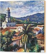 Trinadad Cuba Wood Print