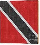 Trinidad And Tobago Flag Wood Print