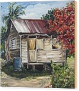 Trinidad Life 1  Wood Print