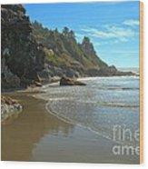 Trinidad Luffenholtz Beach Wood Print