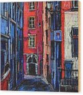 Trinite Square Lyon Wood Print