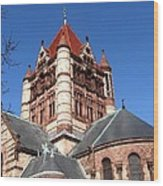 Trinity Church Boston Wood Print