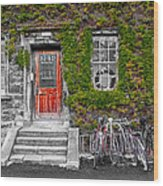 Trinity College Dorm - Dublin Ireland Wood Print