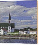 Trinity In Newfoundland Wood Print