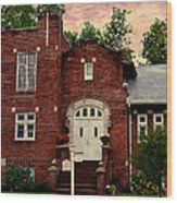 Trinity Lutheran Springfield Missouri Wood Print