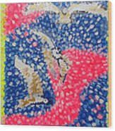 Trio Of Birds Wood Print