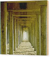 Triple Perspective Wood Print