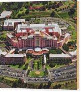 Tripler Army Medical Center - Honolulu Wood Print