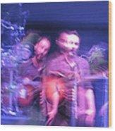 tripy photo of Dave Matthews Wood Print