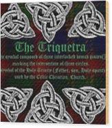 Triquetra Wood Print