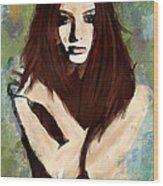 Tristesse Wood Print