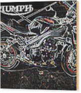 Triumph Abstract Wood Print