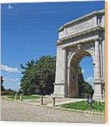 Triumph And Sorrow Arch  Wood Print