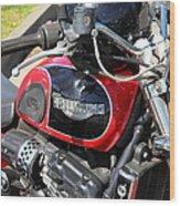 Triumph Motorcycle 5d28101 Wood Print
