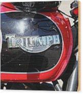 Triumph Motorcycle 5d28104 Wood Print