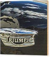 Triumph Wood Print