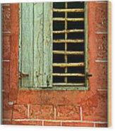 Triumphant Courage -- Inspirational Print Wood Print