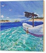 Tropic Breeze Wood Print