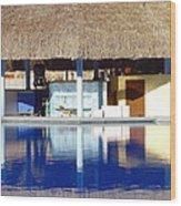 Tropical Bar Wood Print