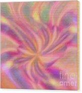 Tropical Breeze Wood Print by Elizabeth S Zulauf