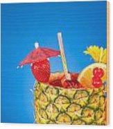 Tropical Drink Wood Print