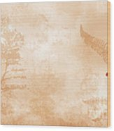 Tropical Wood Print